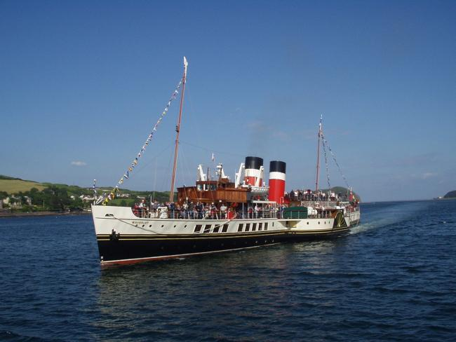 PS Waverley will not make any visits to Helensburgh this year