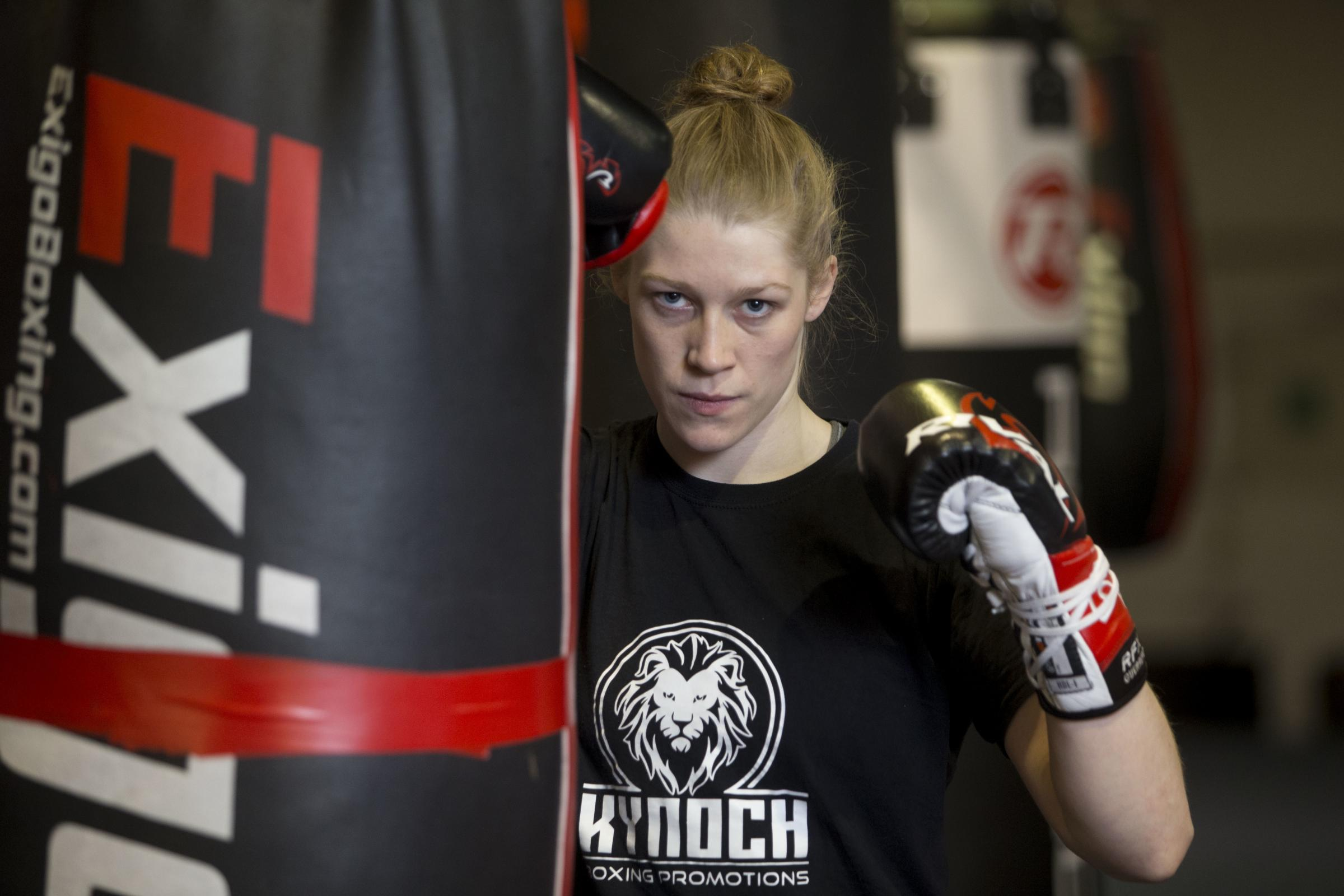 Hannah Rankin says female boxers have to seize every chance that comes their way if the sport's gender pay gap is to be closed