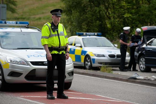 Police arrested a 25-year-old man on the A82 at Inverbeg