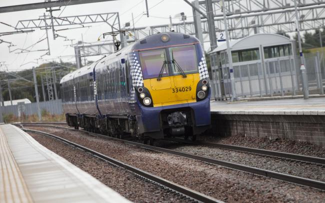 Trains to and from Helensburgh were disrupted on the afternoon of Friday, July 5
