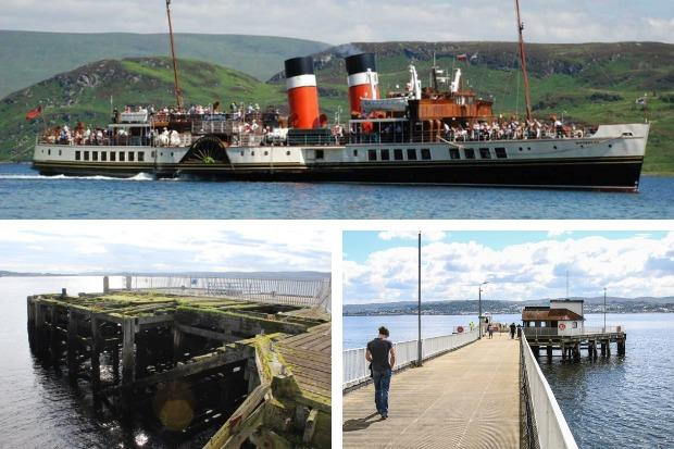 The Waverley will not visit Helensburgh pier during her summer season on the Clyde in 2019 - but she will make extra calls at Kilcreggan instead