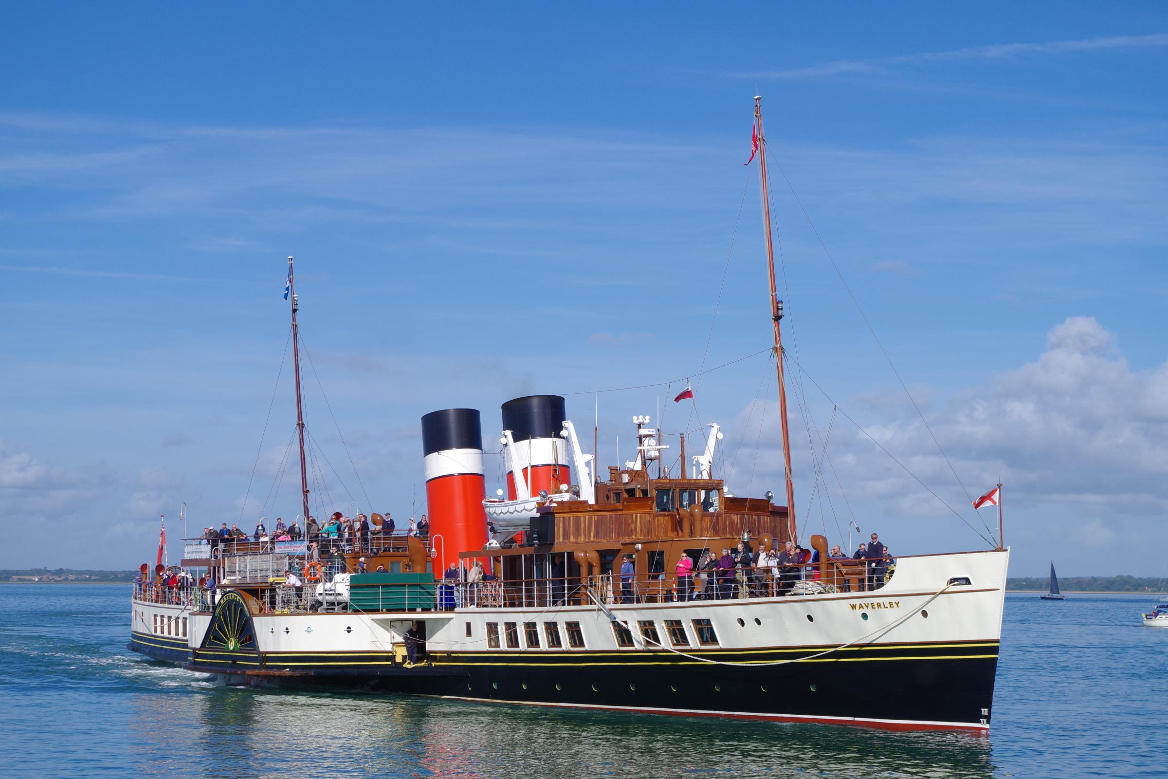 PS Waverley will not call at Helensburgh pier this summer