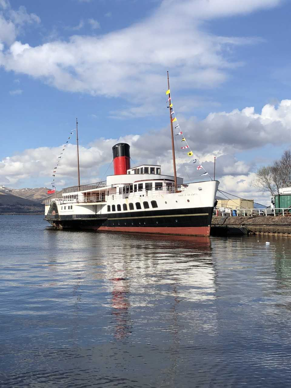 The Maid of the Loch reopens for the season ahead on Good Friday, April 19