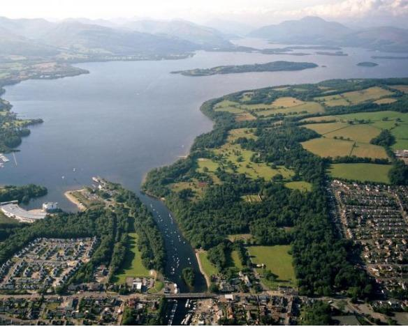 Loch Lomond could be the centre of a £30m leisure resort