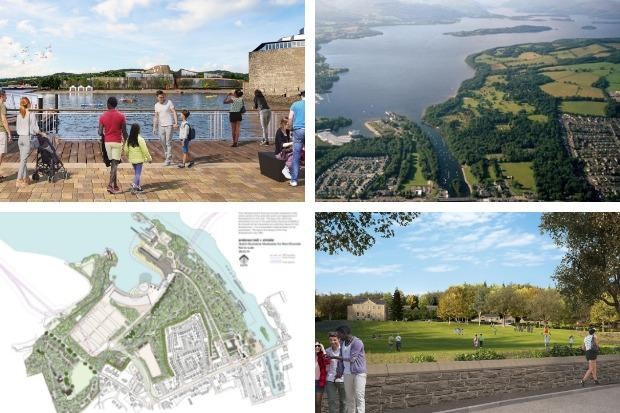 The Lomond Banks proposals have been withdrawn by Flamingo Land and Scottish Enterprise