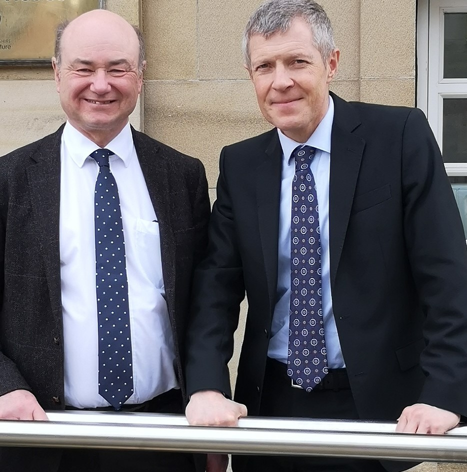 Former Argyll and Bute MP Alan Reid, pictured with Scottish Liberal Democrat leader Willie Rennie, has been chosen to contest the seat for the party at the next UK general election