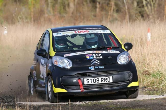 Fraser Anderson in his Citroen C1