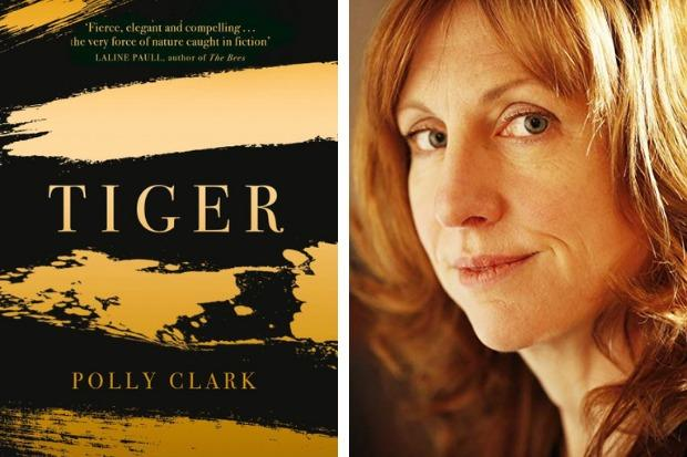 Polly Clark launched her new novel 'Tiger' in Helensburgh