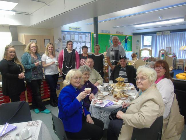 Kirkmichael's 'meet and eat' group has been highlighted as one of the area's big success stories of recent years (Pic - Rebecca Simpson)