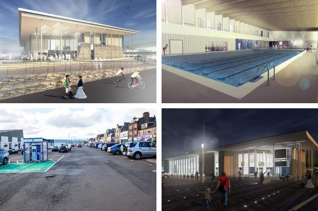 The main works contractor for Helensburgh's waterfront project has been chosen - but the identity of the winning bidder, and the value of the contract, won't be made public until mid-July
