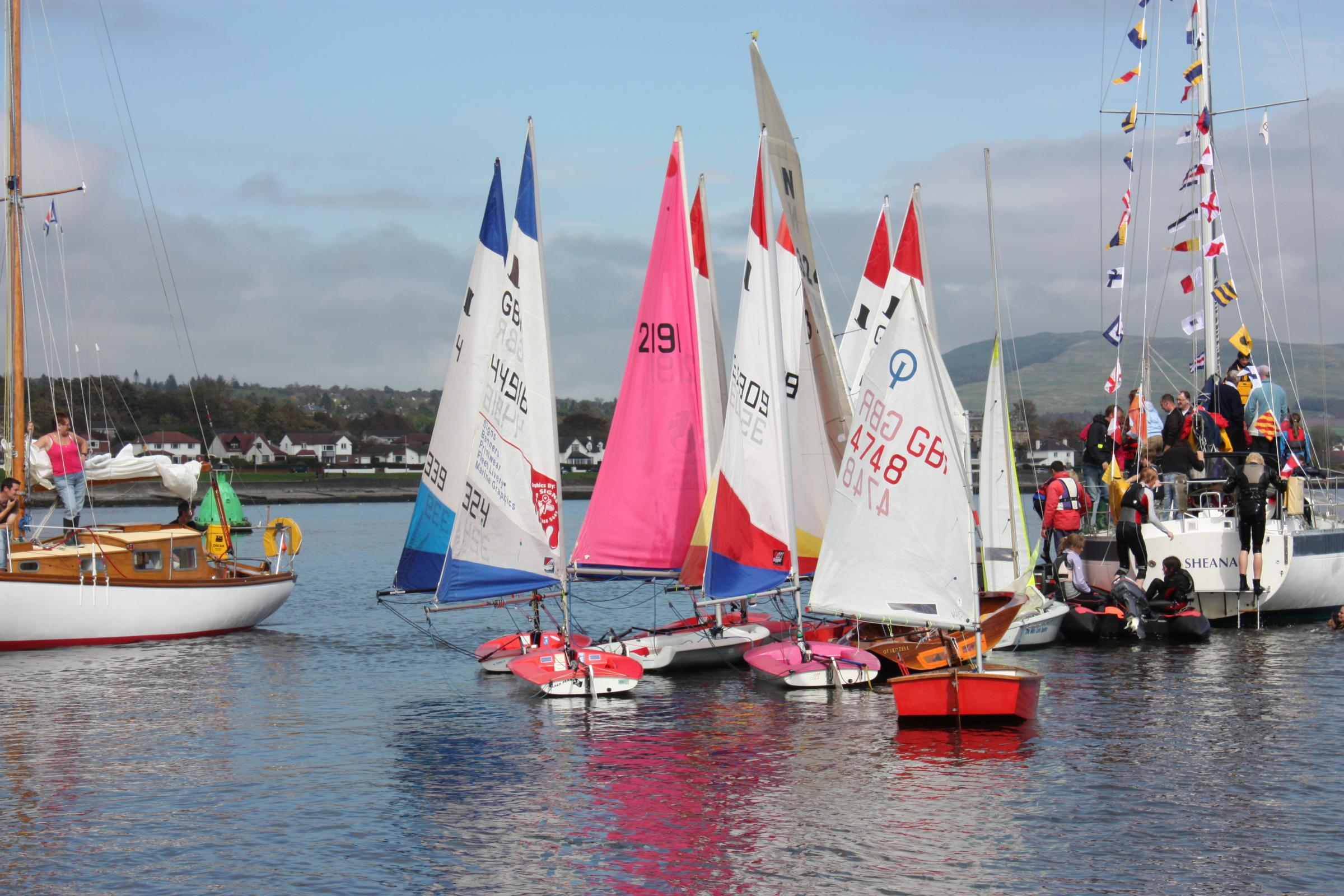 Helensburgh Sailing Club open day
