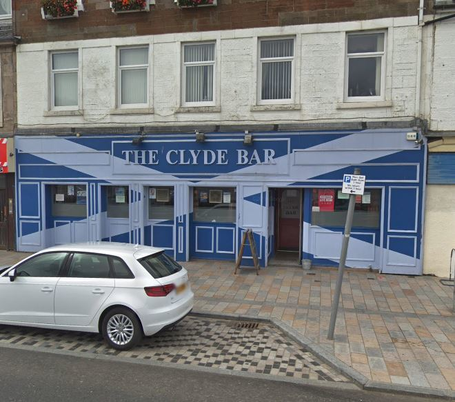 The Clyde Bar in West Clyde Street (Street View 2018)