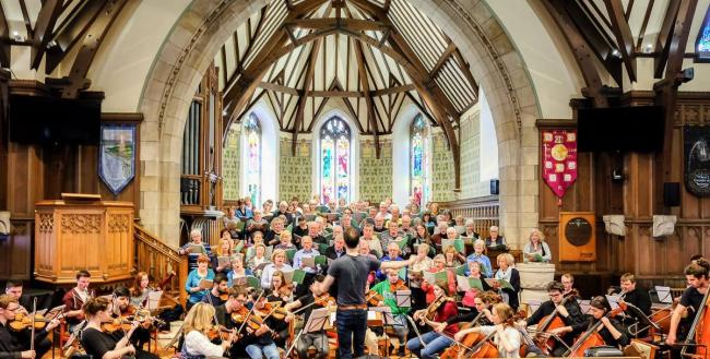 The oratorio choir will perform at Helensburgh Parish Church on Sunday