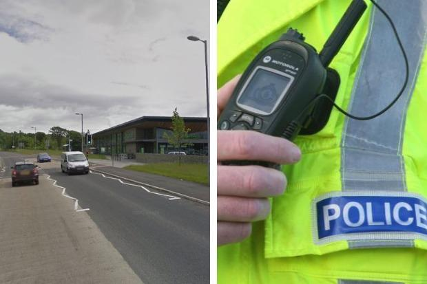 Police say a 26-year-old man was stopped on Cardross Road near Waitrose on May 8