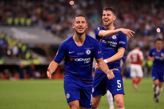 4799df15f5e8 Eden Hazard inspires Chelsea to Europa League glory at Arsenal's ...