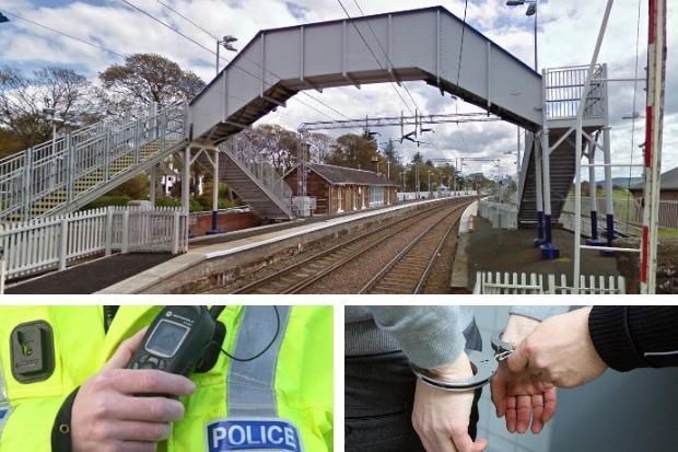 A 15-year-old boy from Helensburgh was arrested in connection with alleged assaults on two teenage girls at Cardross railway station