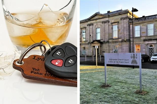 A 57-year-old Helensburgh resident was arrested on suspicion of drink-driving in the town