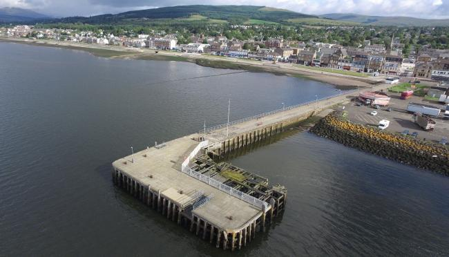 Helensburgh pier has been closed to all marine traffic since October 2018