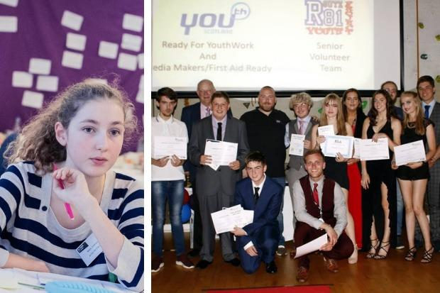 MSYP Rosie Sumsion is a member of the Helensburgh and Lomond Youth Forum, which has been praised in the report, along with the Route 81 youth project